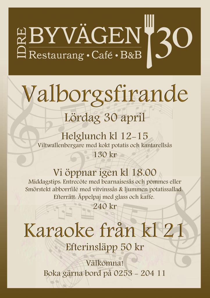 2016 - Valborg